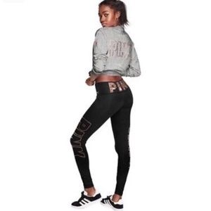 PINK Victoria's Secret Pants - *SOLD ON Ⓜ️* Victoria's Secret PINK BLING Leggings
